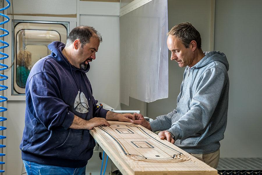 innovazione nella produzione degli sci