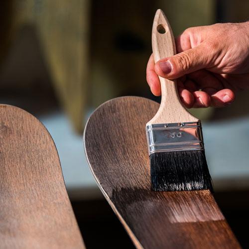 operaskis opera skis ski handmade wood handcraft wooden