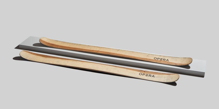 operaskis sci freeride art 111 in finitura frassino naturale