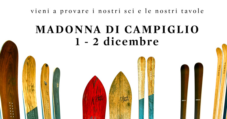 evento demo test sci Operaskis a madonna di campiglio dicembre 2018