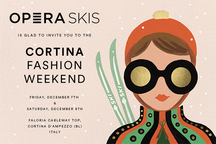 operaskis cortina fashion week demo test skis