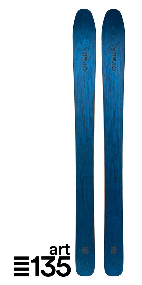 Sci Powder in legno naturale | Art 135 | OPERA Skis