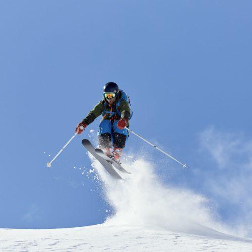 Twin-tip Freeride Freestyle Skis