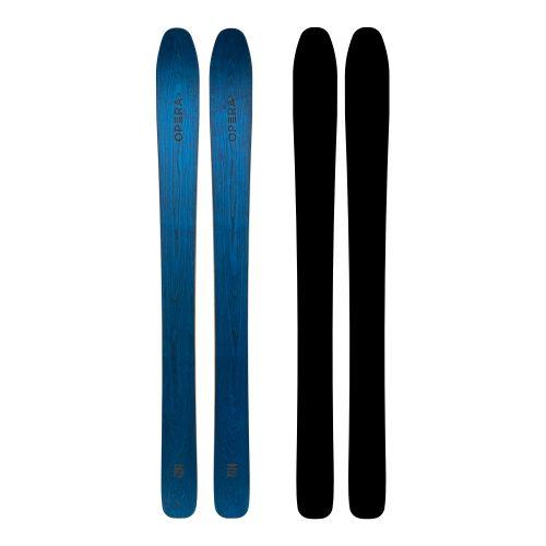 Sci Powder in legno naturale blu | Art 135 | OPERA Skis