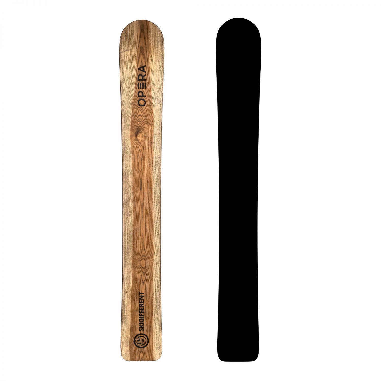 Monosci in legno di frassino   Monoski-different   OPERA Skis